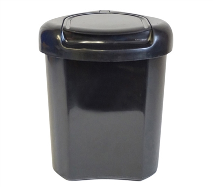 Lidded Corner Trash Can College Supplies Dorm Necessities Cheap Dorm Supplies