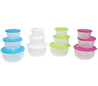Microwave Bowls - Set of 3 College Supplies Dorm Necessities