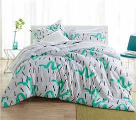 Quirk Twin XL Comforter Set Dorm Bedding Must Have Dorm Items