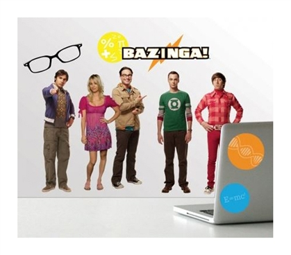 Peel N Stick - The Big Bang Theory Decals