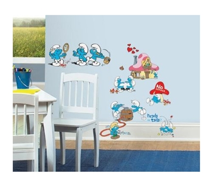 Peel N Stick - Smurfs Classic Decals