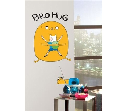Peel N Stick - Adventure Time Hug Decal