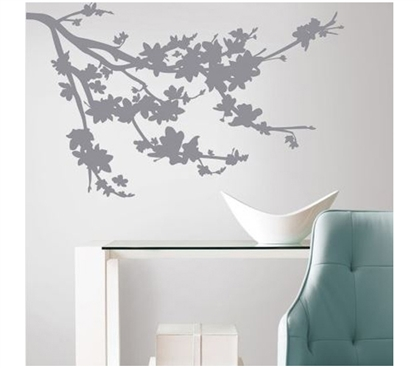 Peel N Stick - Gray Blossom Branch Decals