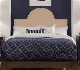Perfect Fit Round Headboard Pillow - Taupe