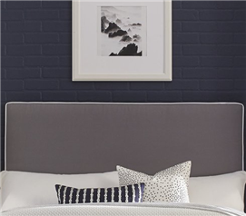 Perfect Fit Square Headboard Pillow - Gray