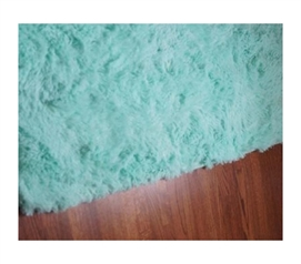 College Plush Rug - Calm Mint College Rug Must Have Dorm Items Dorm Essentials