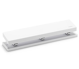 3 Hole Punch - White Dorm Necessities College Supplies