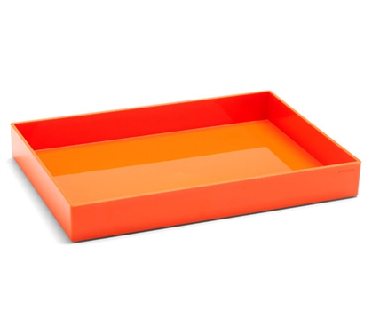 Accessory Tray - Large - Orange Dorm Essentials Dorm Room Decor
