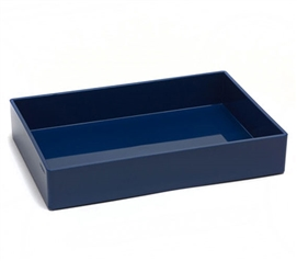 Accessory Tray - Medium - Navy Dorm Organization Dorm Essentials