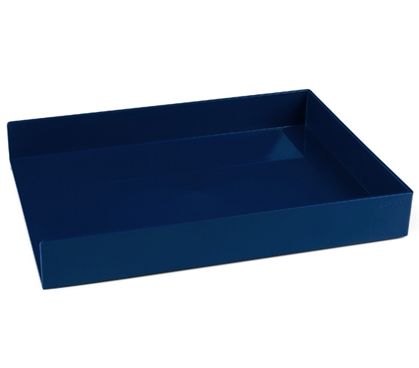 Single Letter Tray - Navy