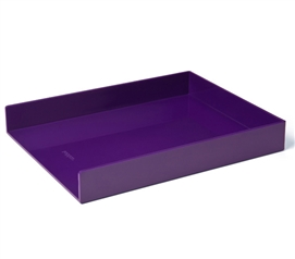 Single Letter Tray - Purple