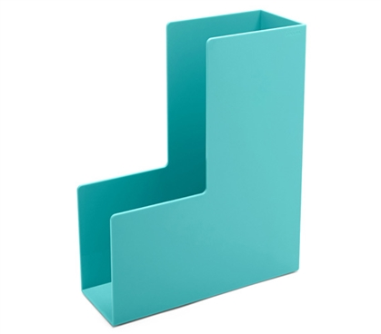 Magazine File - Aqua Dorm Essentials College Supplies Dorm Organization