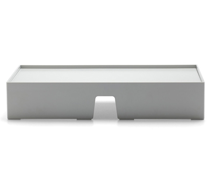 Monitor Riser - Light Gray Dorm Storage Solutions Dorm Necessities