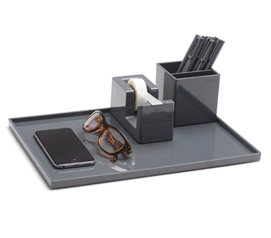 Slim Tray - Large - Dark Gray