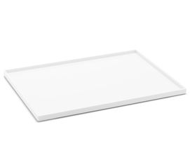Slim Tray - Large - White