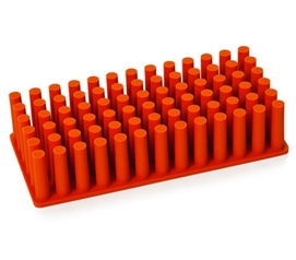 Soft Grip Grass - Orange Dorm Organization Dorm Storage Solutions