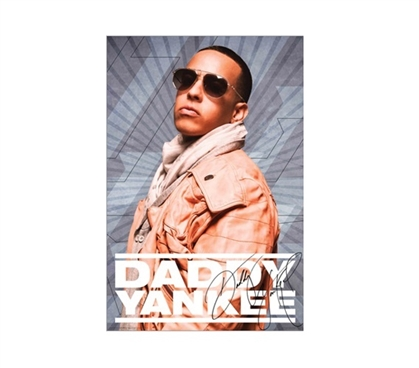 Daddy Yankee Dorm Room Poster College Wall Decor Must Have Dorm Items
