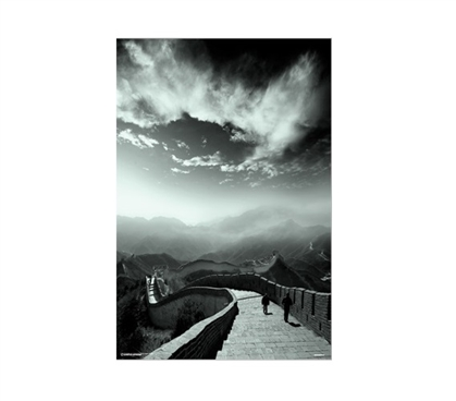 To The End of the World The Great Wall College Poster Dorm Room Decorations College Wall Decor