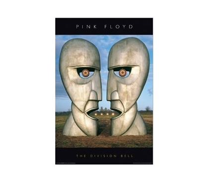 Pink Floyd - Division Bell Dorm Room Poster Dorm Room Decorations College Wall Decor