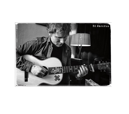 Ed Sheeran - Guitar Poster for Dorm Rooms Dorm Wall Art Dorm Room Decorations