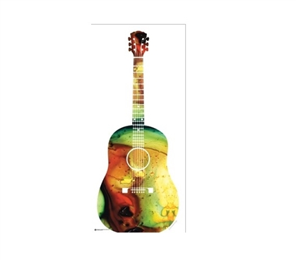 Acoustic Guitar Dorm Room Poster Dorm Room Decorations Wall Decorations for Dorms