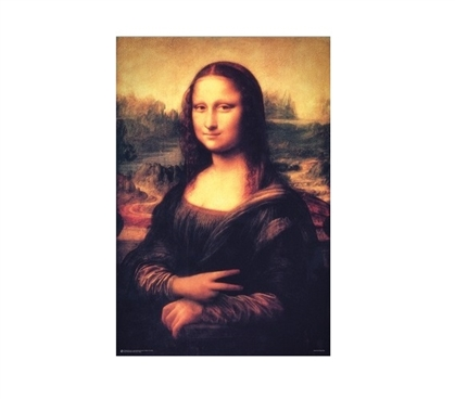 Cheap Dorm Decorations - Mona Lisa - Peace Poster