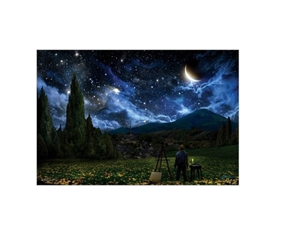 Starry Night Dorm Poster Dorm Room Decor Wall Decorations for Dorms