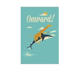 Onward! Dorm Poster Dorm Room Decor Dorm Wall Art