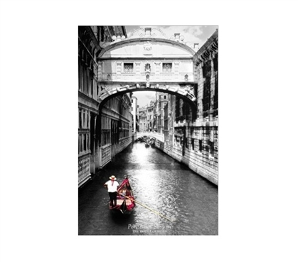 Bridge of Sighs Dorm Poster Dorm Room Decorations Dorm Wall Art