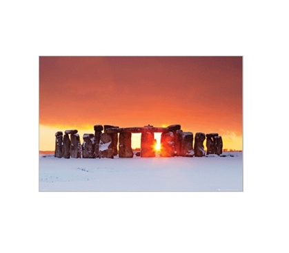 Tom Mackie Stonehenge College Poster Dorm Room Decorations Dorm Room Decor