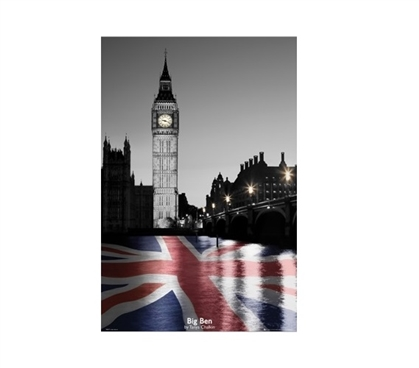Tanya Chalkin Big Ben Dorm Poster Dorm Room Decorations Dorm Room Decor