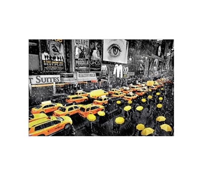 New York Umbrellas College Poster Dorm Room Decorations Must Have Dorm Items