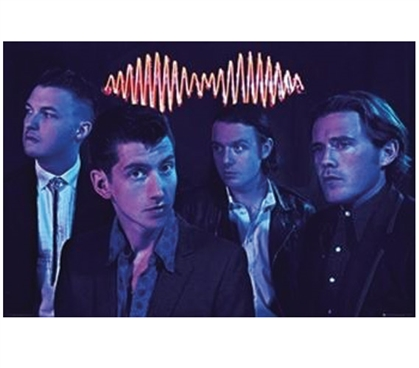 Arctic Monkeys - Group Poster