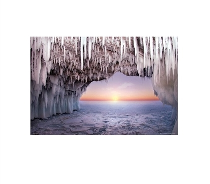 Ice Cave Horizon Dorm Room Poster Wall Decorations for Dorms College Supplies Cheap Dorm Decor