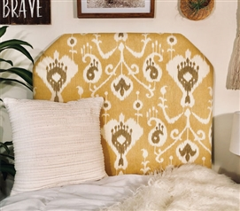Beautiful Headboard for Twin XL Dorm Bedding Barley Magnolia Design Unique College Decor
