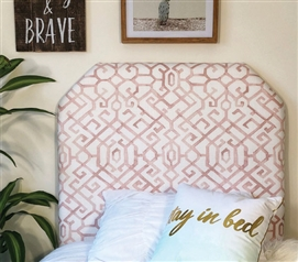 Jing Pink College Headboard