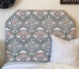 One of a Kind Dorm Room Headboard for Twin XL Bed Stylish Soul Sundown College Bedding Decor