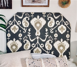 Magnolia Pewter College Headboard