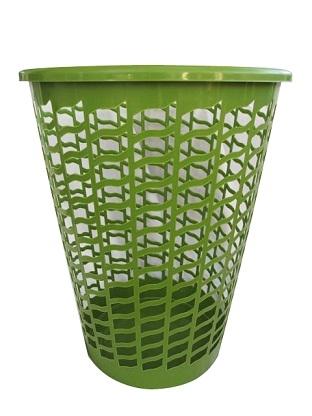 Tall Round Laundry Hamper Green Dorm Laundry Supplies