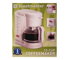 Coffee Is Much Needed For College Life - Toastmaster 10 Cup Coffee Maker - Super Convenient