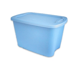 Dorm Storage Supply - 10 Gallon Space Saving Tote - Necessary College Storage Item