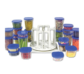 Space Saving food storage containers
