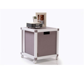 ModeLife - College Dorm Room Bedside Table Cube Furniture for College