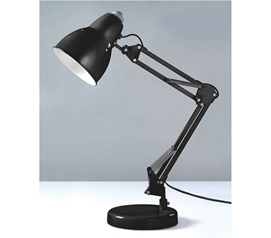 Cheap Lamp - The Adjusto College Desk Lamp - Black - Needed For Reading In Dorm