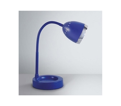 Study In Your Dorm - Radiant Dorm Desk Lamp - Blue - Needed For Dorm Rooms