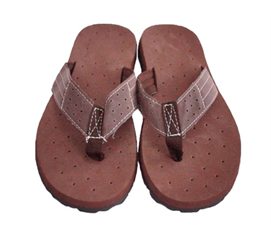 Comfortable Dorm Room Sandals to Keep Your Feet Dry - Cushion-Relax Shower Sandals - Sahara Brown