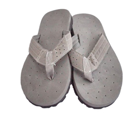 Stylish Showering Footwear That Students Love - Cushion-Relax Shower Sandals - Gray