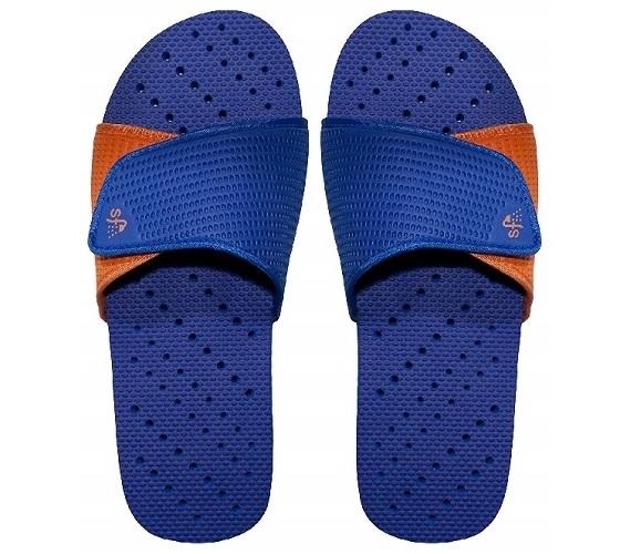 Showaflops Men S Antimicrobial Shower Sandal Blue
