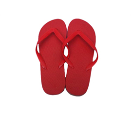 Shower Shoes For College - Classic College Shower Sandals - Red - Cheap Shower Shoes