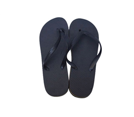 Dorm Essentials - Classic College Shower Sandals - Black - Cheap Shower Flip Flops